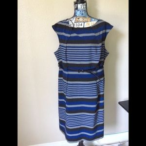 Calvin Klein stripe dress